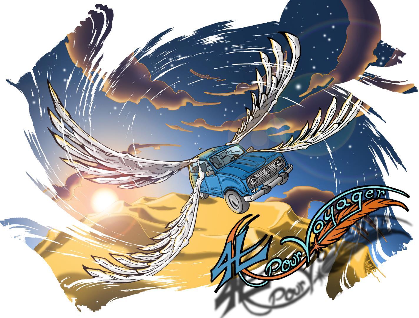 Association - 4 ailes pour voyager