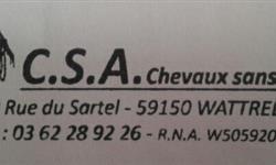 C.S.A.Chevaux sans abri