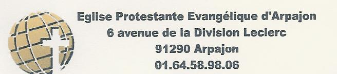 Association - Eglise Protestante Evangélique d'Arpajon