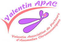 Association - Valentin APAC Association de Porteurs d'Anomalies Chromosomiques
