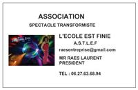 Association A.S.T.L.E.F L'ECOLE EST FINIE