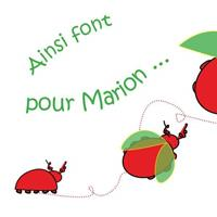 Association - Ainsi Font Pour Marion