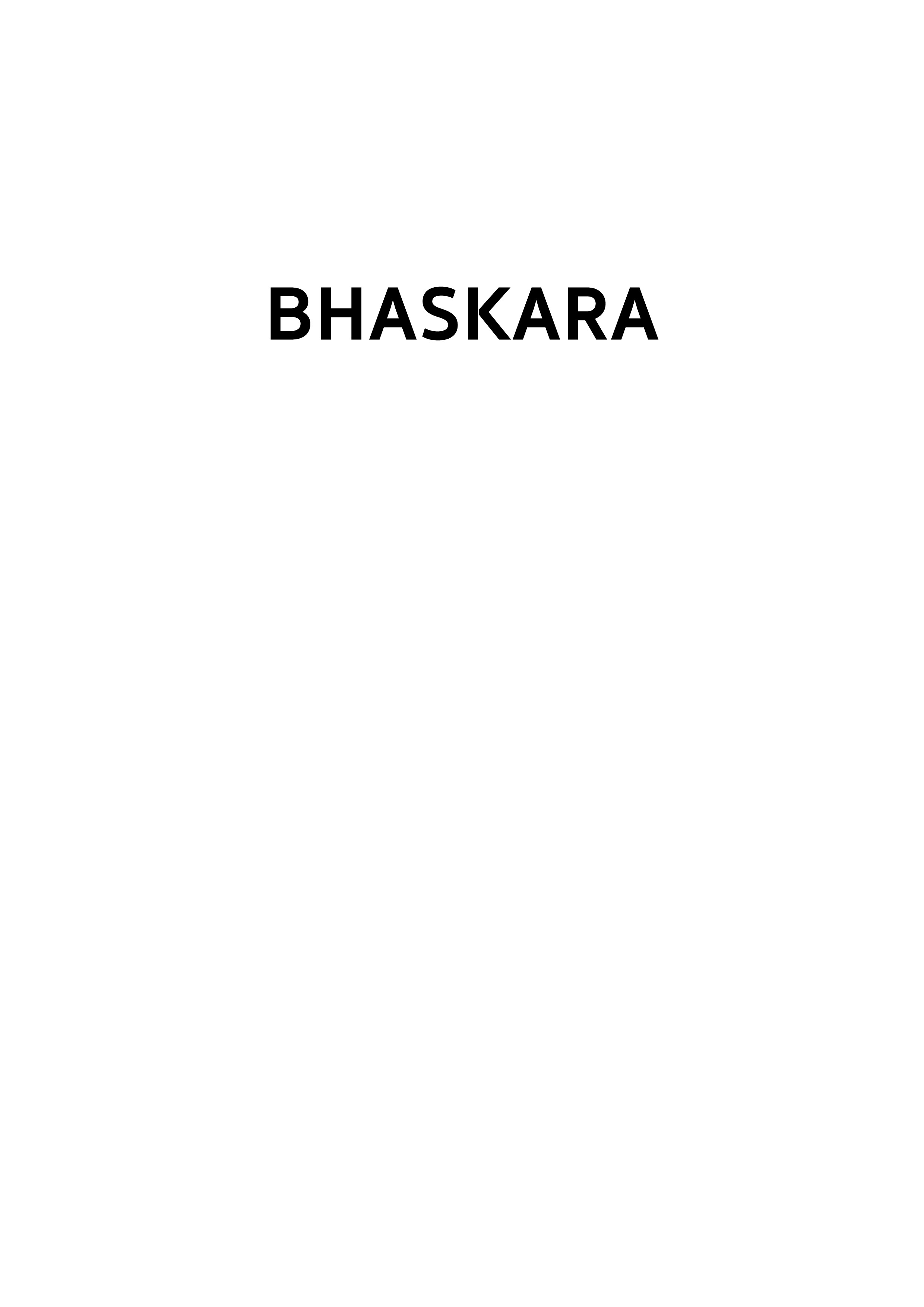 Association - Association BHASKARA