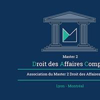 Association - Association du Master II Droit des Affaires Comparé
