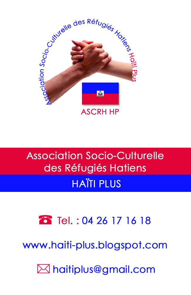 Association - Association socio culturelle des réfugiés Haïtiens Haiti plus