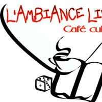 """Association - Café culturel """"L'Ambiance livres"""""""