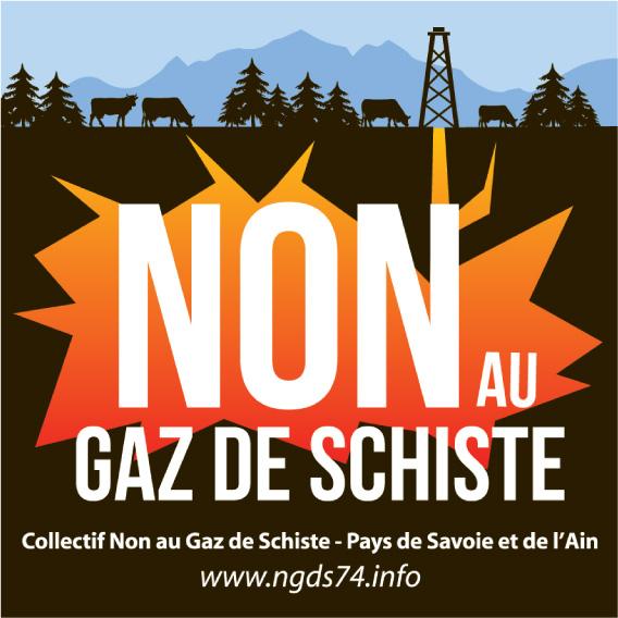 Association - COLLECTIF NON AU GAZ DE SCHISTE DES PAYS DE SAVOIE ET DE L'AIN