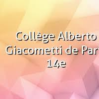 Association - conseil local ALBERTO GIACOMETTI