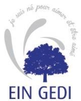Association - EIN GEDI