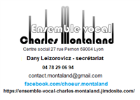 Association Ensemble vocal Charles Montaland
