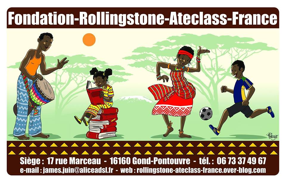 Association - FONDATION ROLLINGSTONE ATECLASS FRANCE