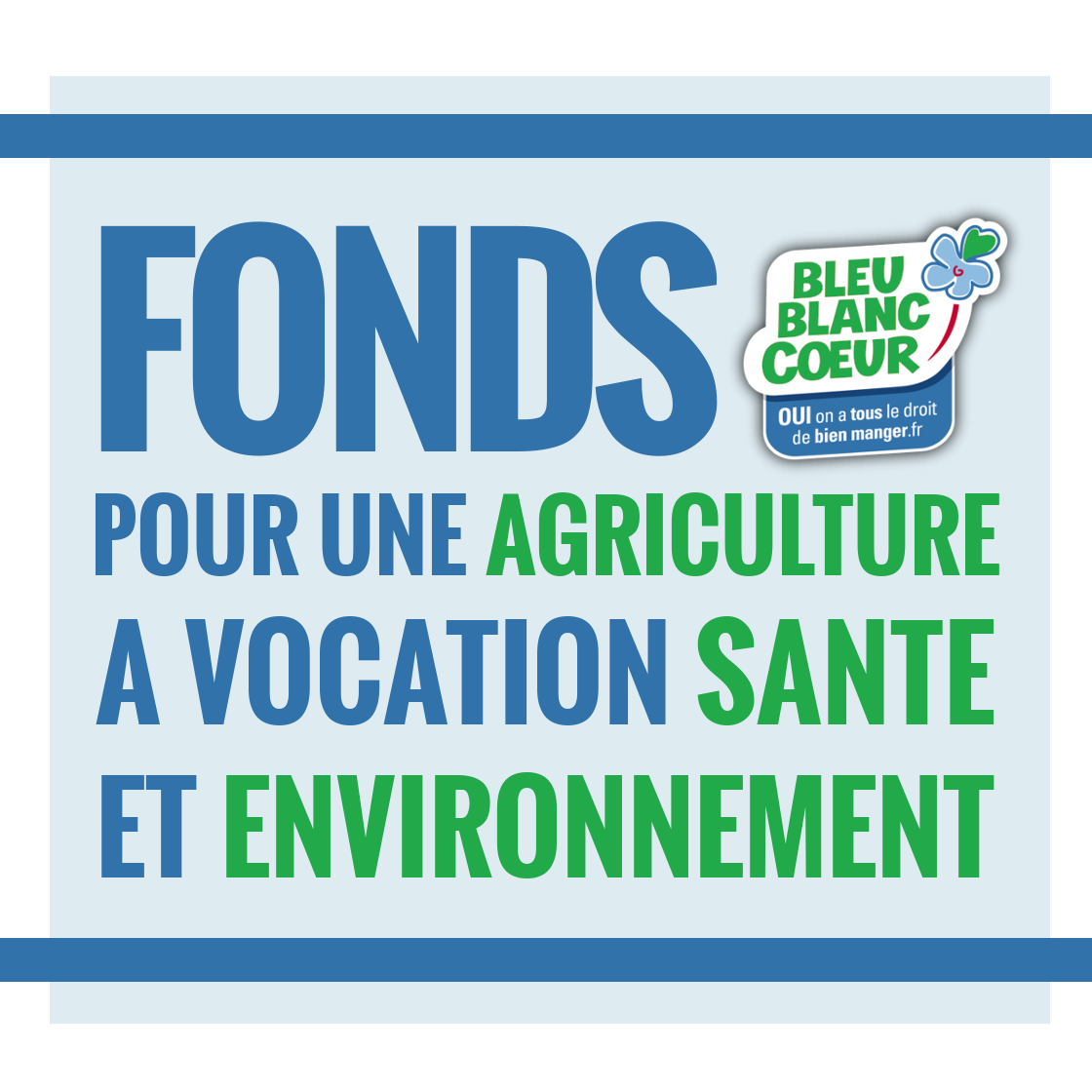 Association - Fonds Bleu-Blanc-Coeur