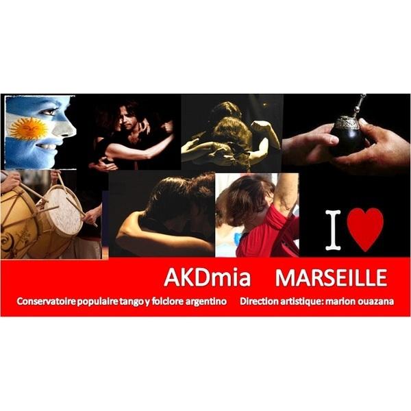 Association - Association AKDmia del Tango Argentino Marseille Marion Ouazana