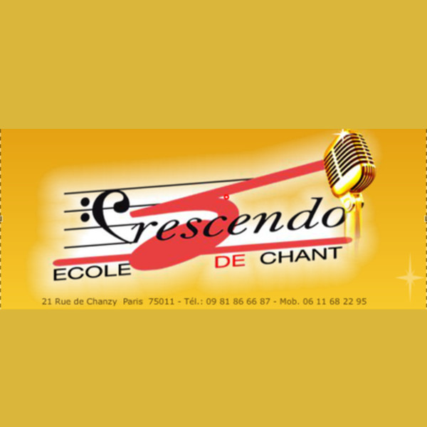 Association - Ecole de chant Crescendo