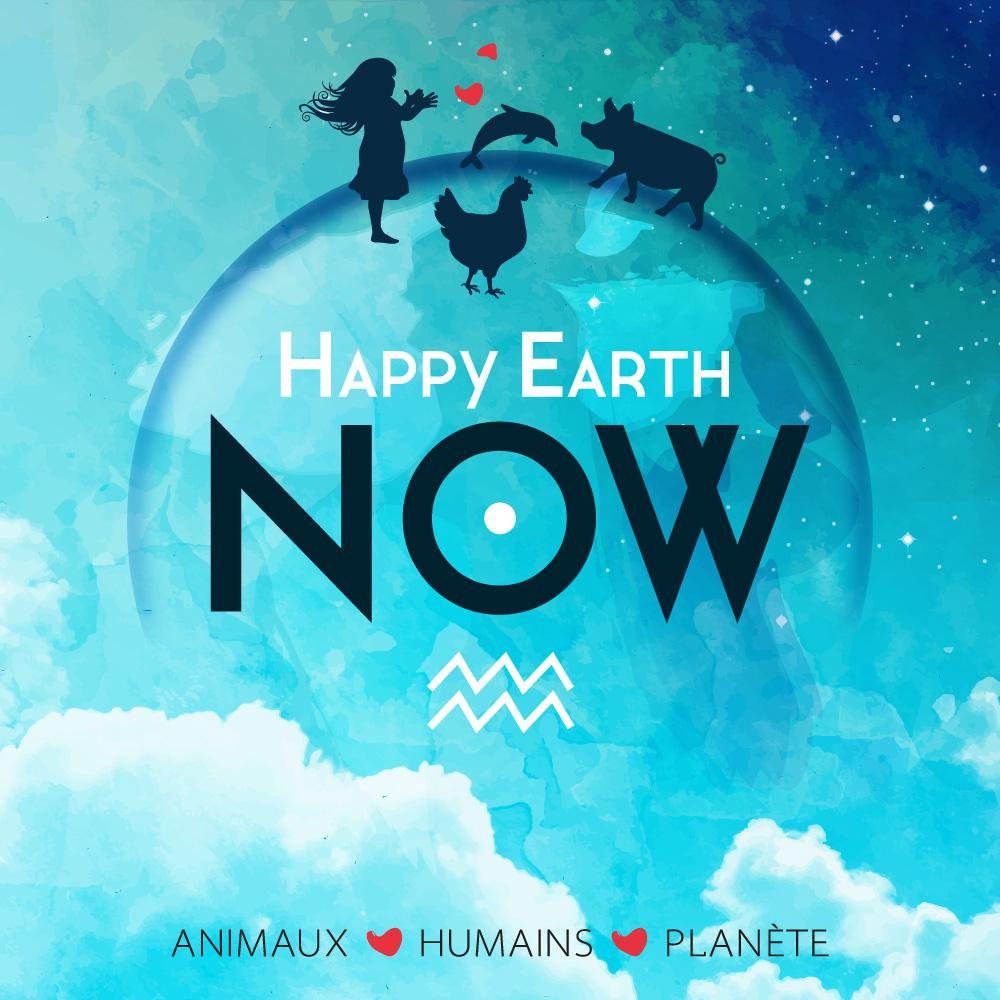 Association - Happy Earth Now - Animaux, Humains, Planète