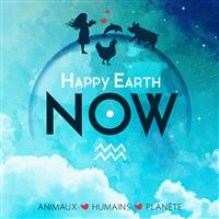 Association - Happy Earth Now - Animaux, Humains, Planète