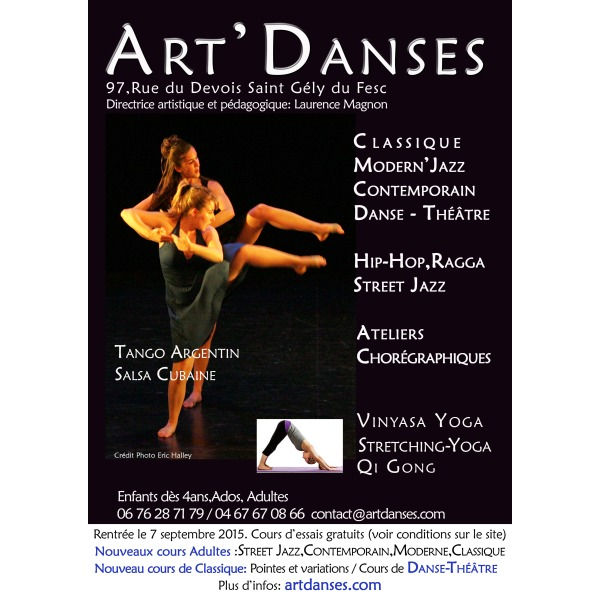 Association - CENTRE ART'DANSES