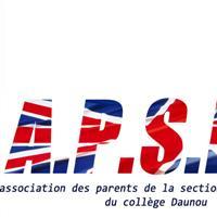 Association - L'APSID (l'association parents de la section internationale Collège Pierre Daunou)