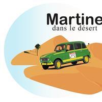 Association - Martine dans le désert