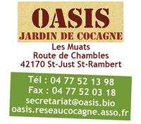 Association OASIS jardin de Cocagne de St Just St Rambert