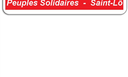 Association - PEUPLES SOLIDAIRES SAINT LO