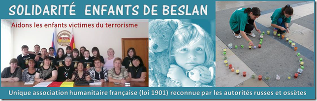Association - SOLIDARITE ENFANTS DE BESLAN