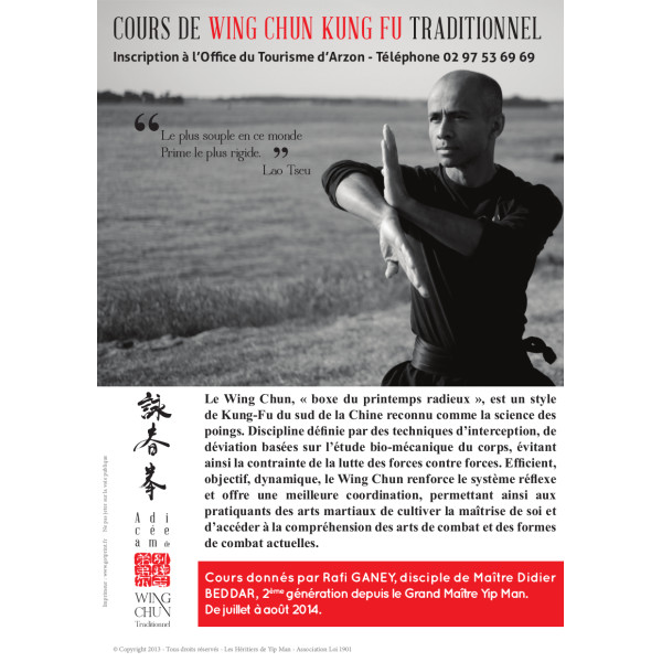 Association - Académie de Wing Chun traditionnel