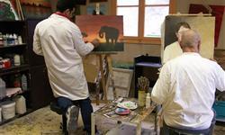 Atelier peinture aux Epinettes - BASILIADE