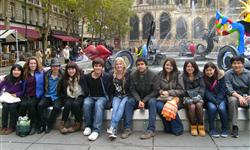 Jeunes accueillis en voyage à Paris - AFS Vivre Sans Frontière Région Centre