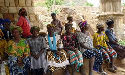 Les responsables du groupement de femmes maraîchères de Tiréli - Mali - ADESAF
