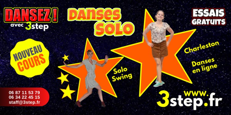 Cours de Danses Solo - 3step