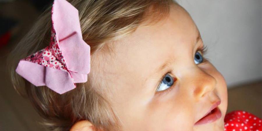 Barrette Papillon pour petite fille coquette - ASSOCIATION ENFANCE EPILEPSIE