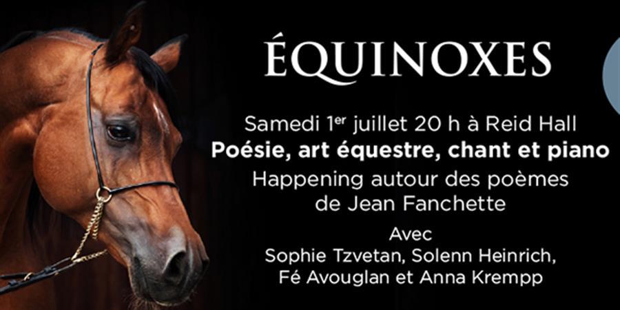 ASSOCIATION JEAN FANCHETTE / SPECTACLE EQUINOXES - Association Jean Fanchette