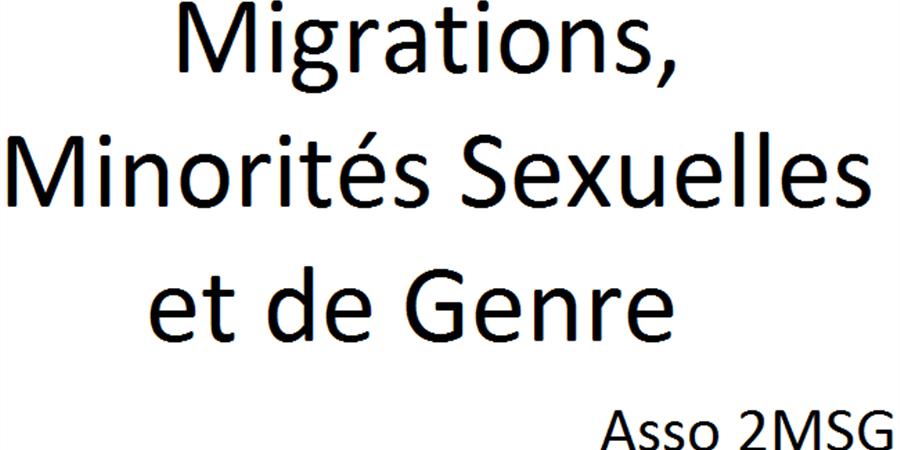 Adhésion Individuelle - 2MSG Migrations, Minorités Sexuelles et de Genre