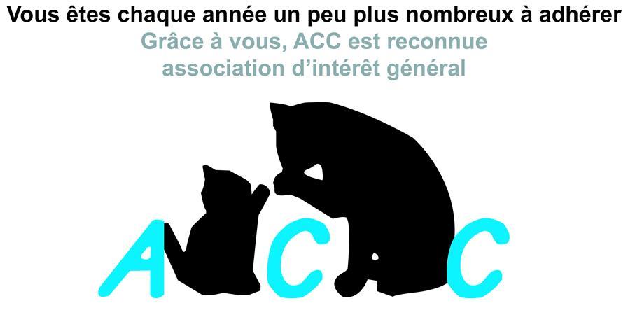 Adhésion à l'association Au Coeur des chats - Association Au coeur des chats