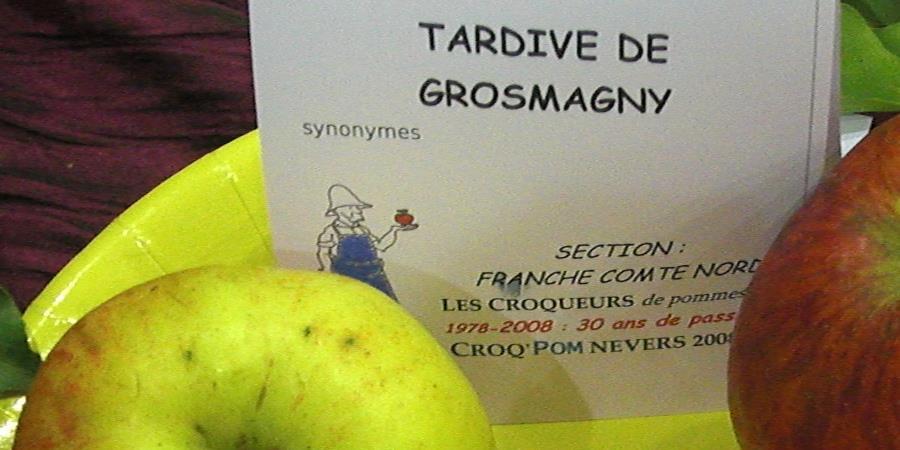 Adhésion 2018 et abonnement au bulletin des Croqueurs de Pommes - Ass. loc. des Croqueurs de pommes de Franche-Comté Nord