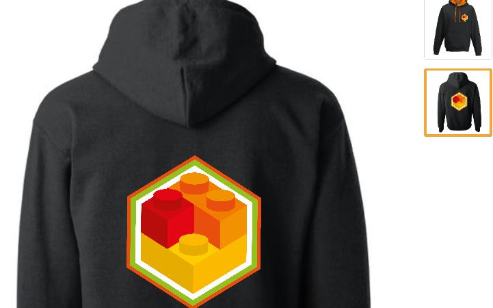 Adhérez à l'esprit Brickodeurs avec le Sweatshirt saison 2018/2019 - Forum Education Science Culture (FESC)