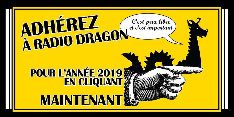 Adhésion RADIO DRAGON - Radio Dragon