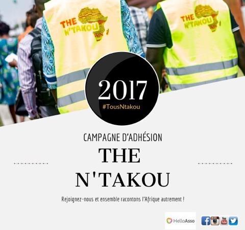 CAMPAGNE D'ADHÉSION  #TousNtakou - The N'Takou
