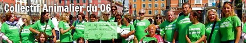 Adhérez pour défendre les animaux dans le 06 - COLLECTIF ANIMALIER 06