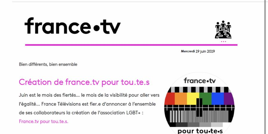 Adhésion des amis de France Télévisions - France.tv pour tou.te.s