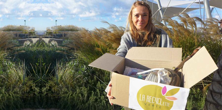 Rejoignez notre recyclerie et participez à des actions environnementales. - la recyclette verte
