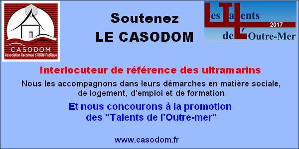 Campagne 2018 d'Adhésions ou de renouvellement d'adhésions au CASODOM - CASODOM