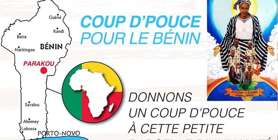 Adhésion à l'association Coupd'pouce pour le Bénin - Coupd'Pouce Benin