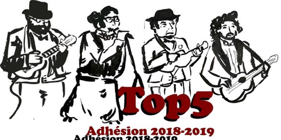Adhésion 2018-2019 - TOP5 Club Ukulélé