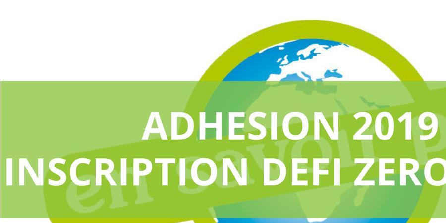 Adhésion 2019 et participation au Défi Zéro Déchet - Association En Savoir Plus