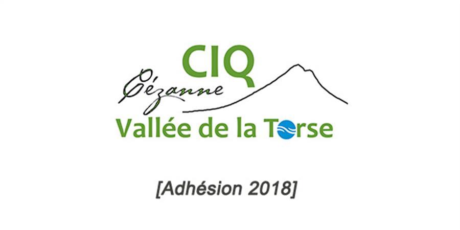 Adhésion 2018 - CIQ Aix Cézanne Vallée de la Torse