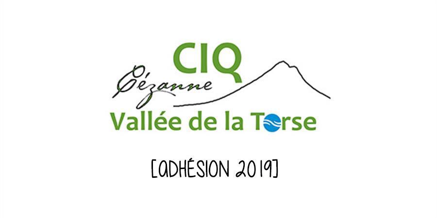 Adhésion 2019 - CIQ Aix Cézanne Vallée de la Torse
