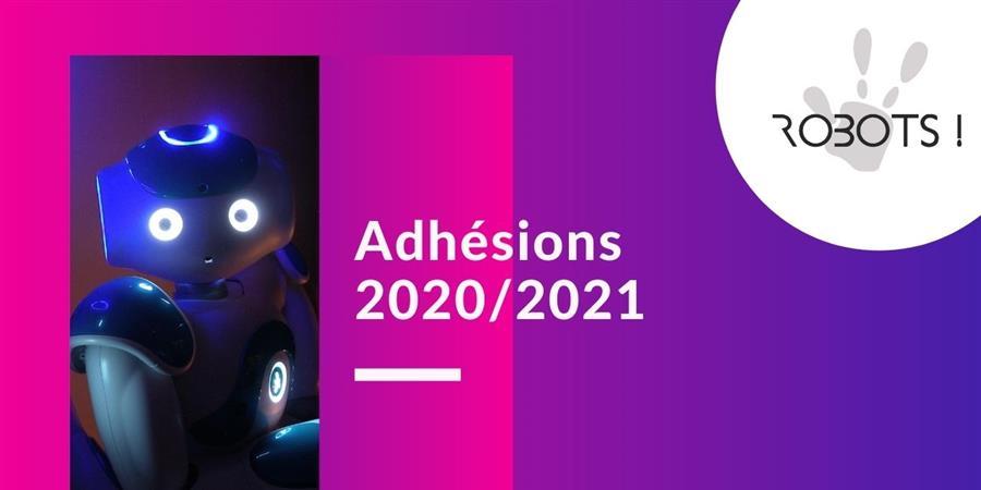 Adhérer à l'association Robots! - Robots!