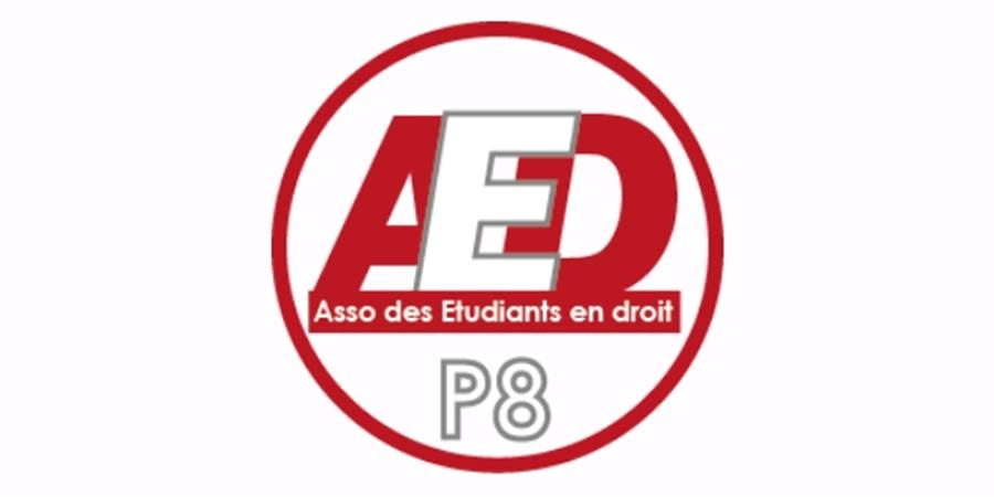 Adhère à l'AED Paris 8 ! - Association des Étudiants en Droit Paris 8
